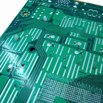 Double Side Pcb Board With Hall Lead Free Surface Finish And Fr 4 Base Material