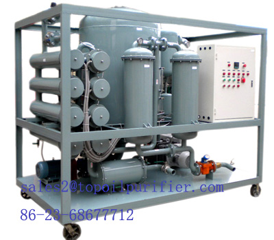 Double Stage High Vacuum Transformer Oil Purifier Series Zye
