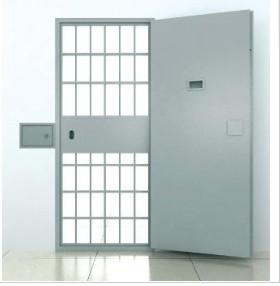 Double Steel Hinged Doors