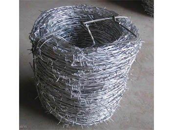 Double Wire Twist Plait Barbed
