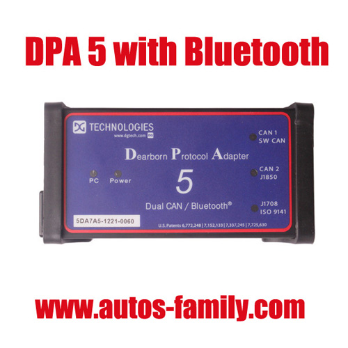 Dpa5 Dearborn Portocol Adapter 5 Heavy Duty Truck Scanner With Bluetooth