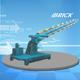 Dqy Hydraulic Multi Buckets Excavator