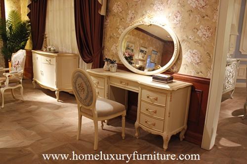 Dressing Table Dressers Wooden Bedroom Furnitrue Antique Fv 101