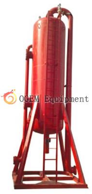 Drilling Fluid Poor Boy Degasser Mud Gas Seperator In Oilfield
