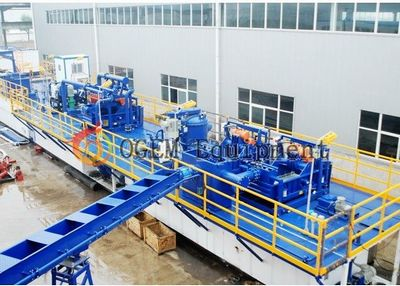 Drilling Fluid Solid Control Mud Process System In Oilfield