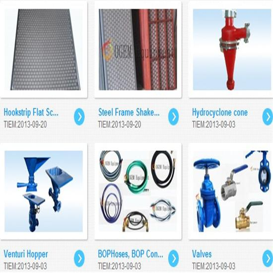 Drilling Mud Equipment Spare Parts