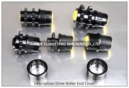 Drive Roller Plastic End Cap Bearing Housing Cover