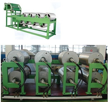 Drum Type Rubber Sheet Cooling Machine