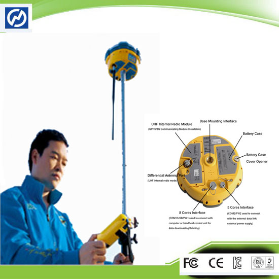 Dual Frequency Superior Instrument Hi Target Gps Base And Rover