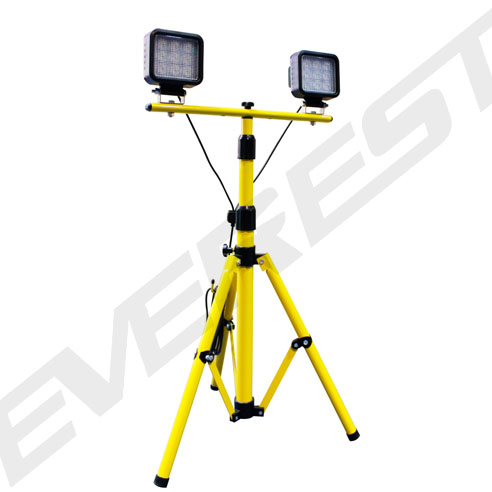 Dual Lamp 9 3w Led Work Light With Tripod Stand