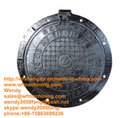 Ductile Iron Manhole Cover In Cast Forged