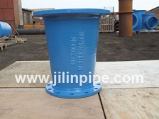 Ductile Iron Pipe Fittings Double Flanged Reducer Taper