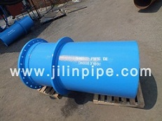 Ductile Iron Pipe Fittings Flange Spigot Piece With Puddle