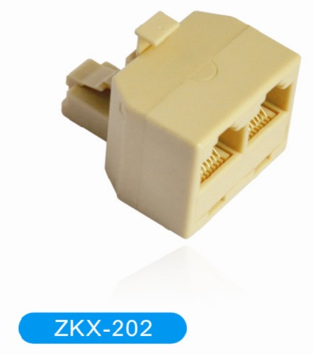Duplex Adapter Rj11 Rj45 With Plug Jack