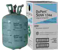 Dupont Freon R134a 30lb Cylinder Made In Usa