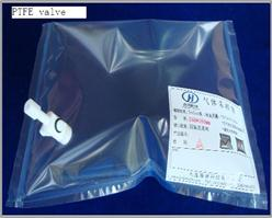 Dupont Tedlar Pvf Gas Sampling Bag 0 5l With Ptfe Valve