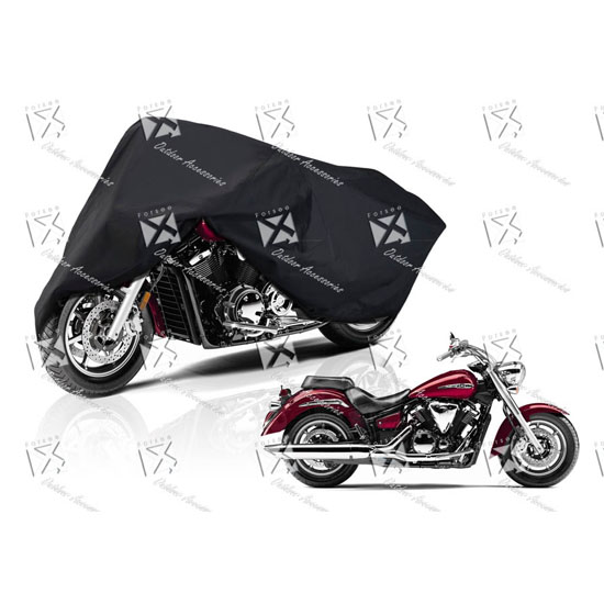 Durable Polyester Motorcycle Cover