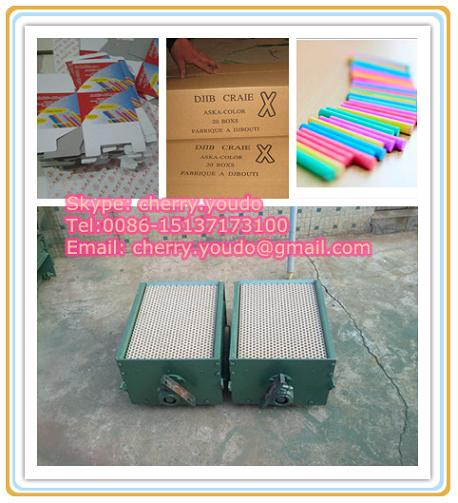 Dustless School Chalk Making Machine 0086 15137173100