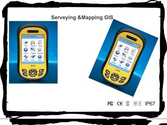 Dustproof Waterproof Ip65 Handheld Gps Gis Collector