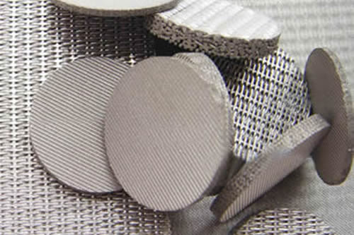 Dutch Woven Sintered Wire Mesh Filter