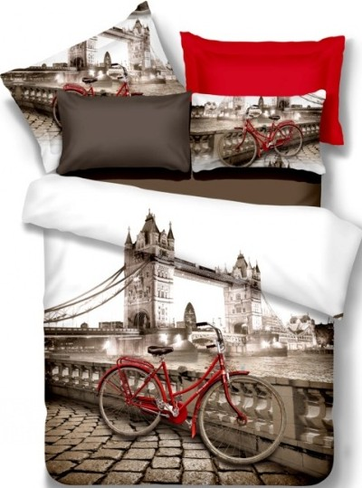 Duvet Cover 4 Pcs Set In 100 Cotton