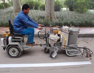 Dy Hal I Ii Hand Push Cold Paint Road Marking Machine