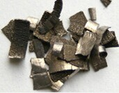 Dysprosium Metal The Is Soft And Ductile Can Be Cut With A Knife