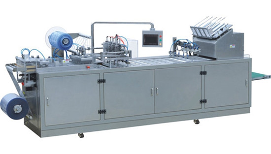 Dzp 400 Full Automatic Paper Pvc Blister Packaging Machine