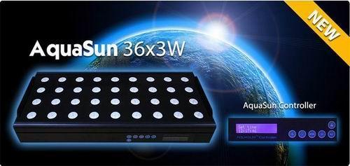 E Shine Aquasun 36x3w Led Aquarium Light