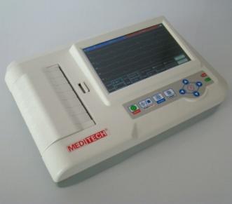 Ecg Machine 6 Channel Ekg 6012