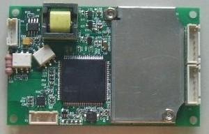 Ecg Module Un M7104 Board