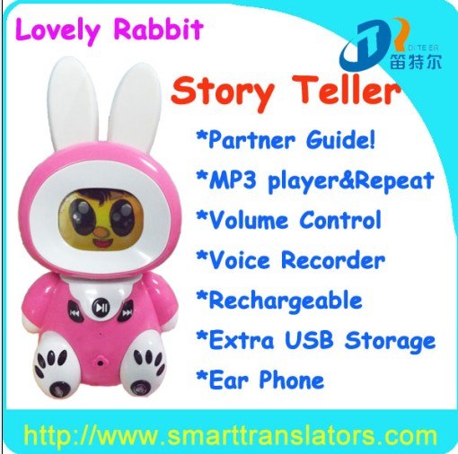Educational Learning Toy St001 Mp3 Story Teller English Language