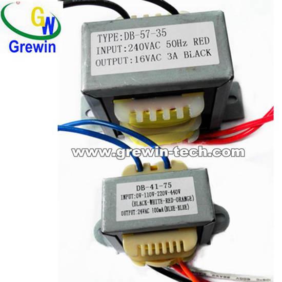 Ei28 Ei35 Ei41 Ei48 Ei66 Ei86 50hz Laminated Transformer For Communication