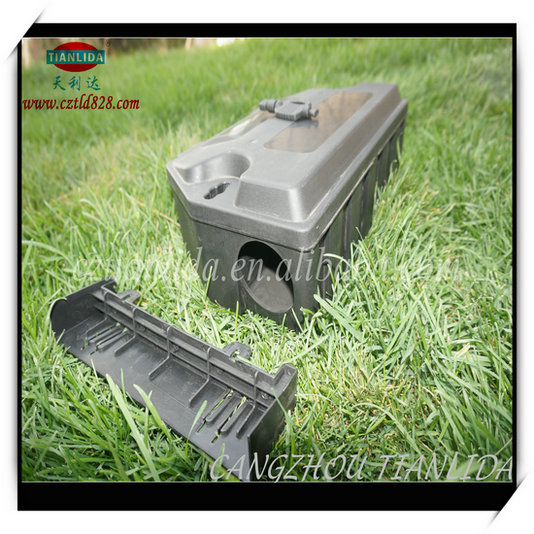 Elected Material Of Pp High Quality Waterproof Mouse Bait Station