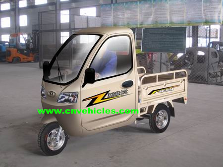 Electric Cargo Rickshaw Goods Carrier Tricycle Battery Operated Yudi C004