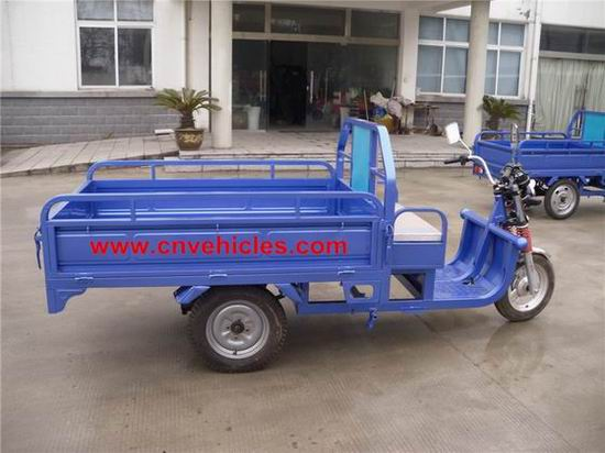 Electric Cargo Rickshaw Goods Carrier Tricycle Battery Operated Yudi C333