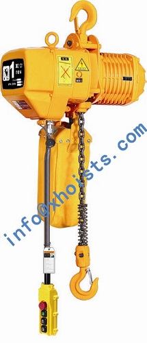 Electric Chain Hoist 0 5ton To 10ton With Hook Suspension