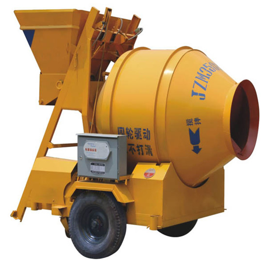 Electric Concrete Mixe Rolling Mixer Jzm Machine