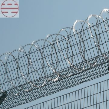 Electric Galvanizing Razor Wire Supplier India China Korea