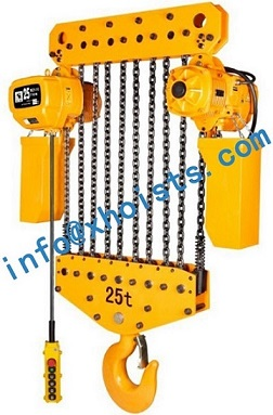 Electric Hoist 15ton To 35ton With Bolts