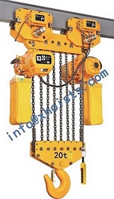 Electric Lifting Hoist 15ton 25ton With Trolley
