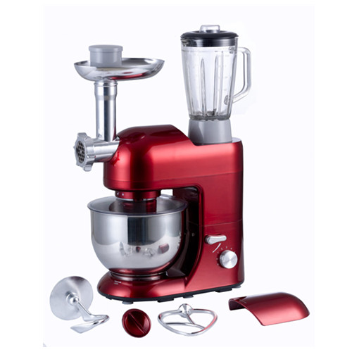Electric Mixer And Food