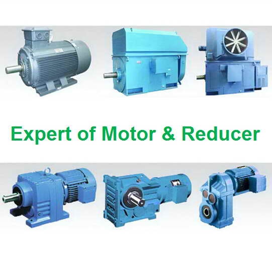 Electric Motor Induction Ac Gearbox Reducer Gear