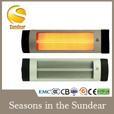 Electric Quarz Infrared Heater With Ce Cb Gs Rohs Approved