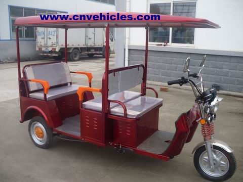 Electric Tricycle Rickshaw Three Wheelers For Passengers Yudi Et13088