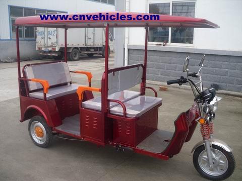 Electric Tricycle Rickshaw Three Wheelers For Passengers Yudi Et13088