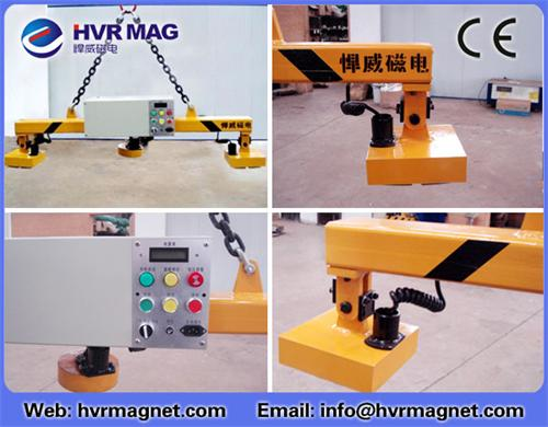 Electro Permanent Lifting Magnets For Steel Slabs Plate Pipes Coils Bundles Structural Shapes And Fa