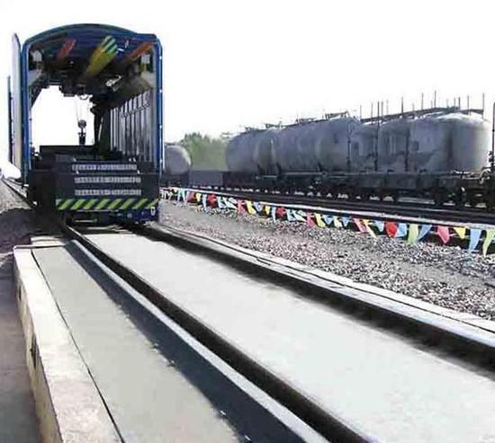 Electronic Rail Weighbridge