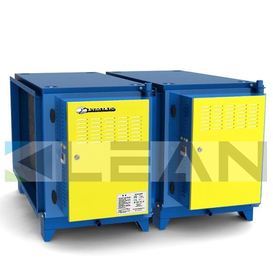 Electrostatic Kitchen Air Purifer For Emission Control