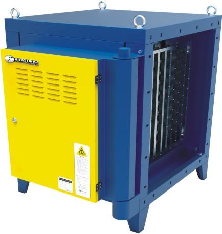 Electrostatic Kitchen Air Purifier For Emission Control